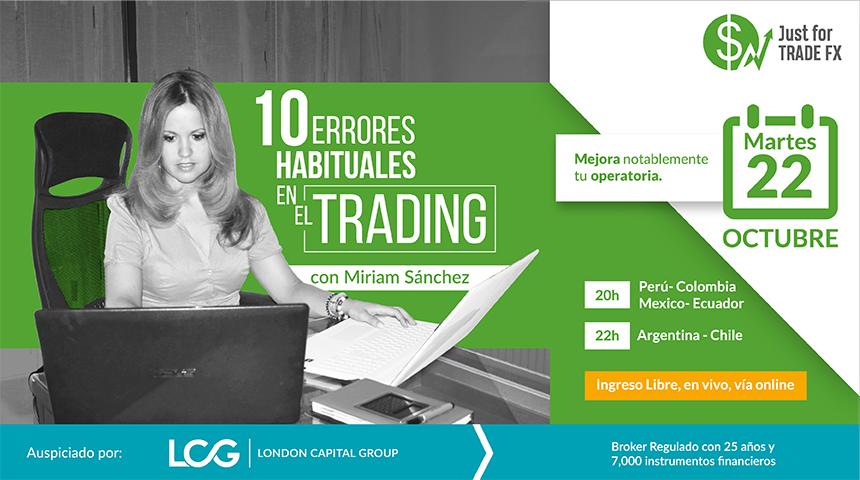 Diez Errores Habituales en el Trading