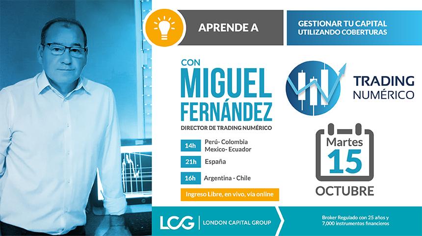 Trading con Coberturas con Miguel Fernández