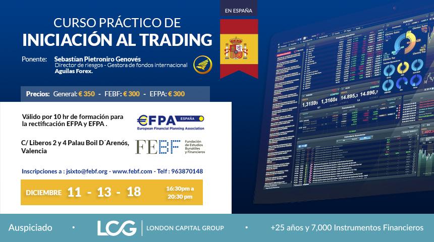 Curso práctico de Iniciación al Trading - Águilas Forex