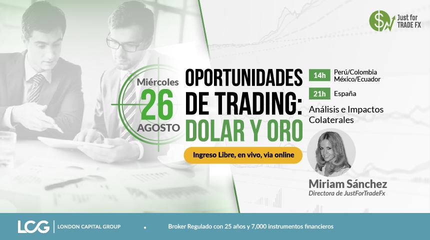 Oportunidades de Trading: Dolar y Oro