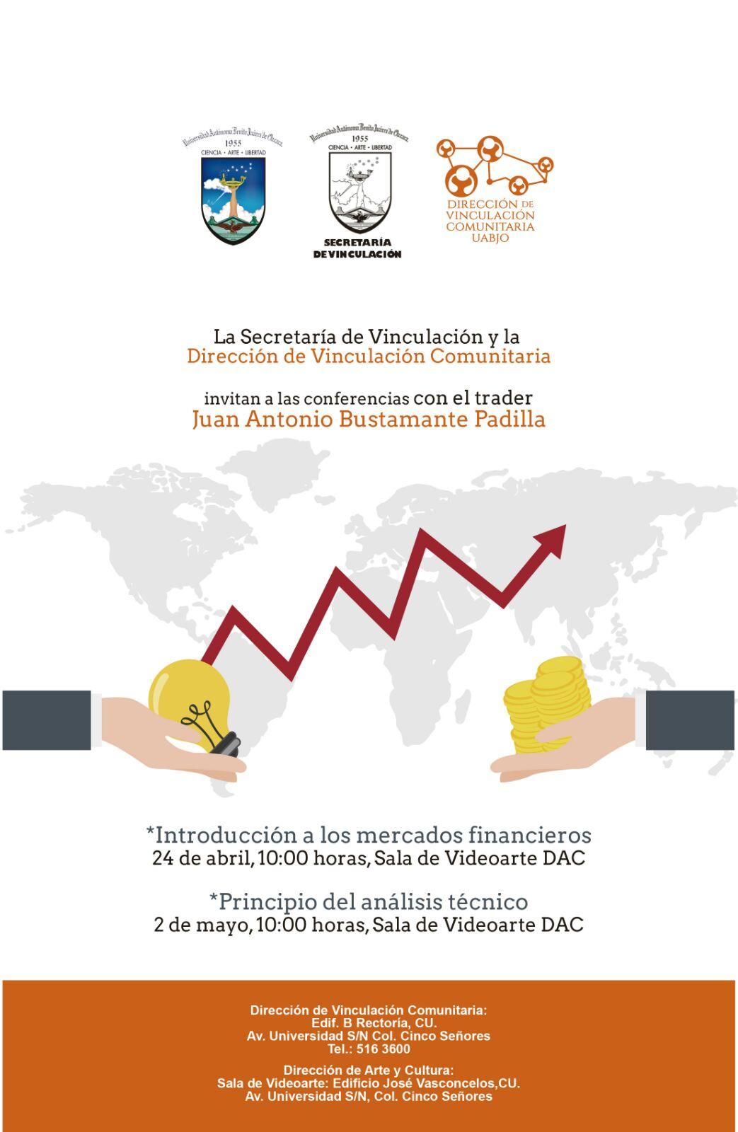 Conferencia Presencial con Juan Antonio Bustamante Padilla