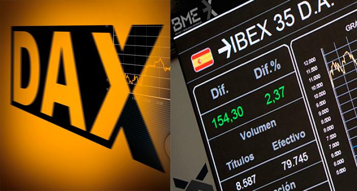 Revisión - Niveles de cierre de año del IBEX Y DAX
