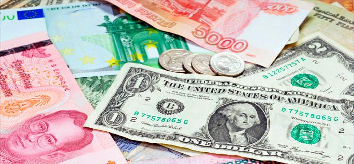 El dólar, a la baja, la libra y yen toman fuerza