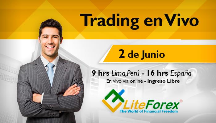 Trading en vivo con LiteForex