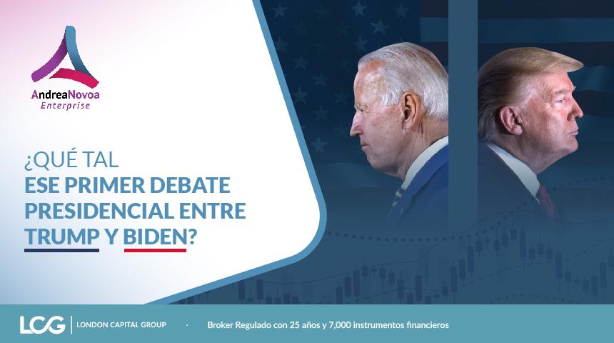 ¿Qué tal ese primer debate presidencial entre Trump y Biden?