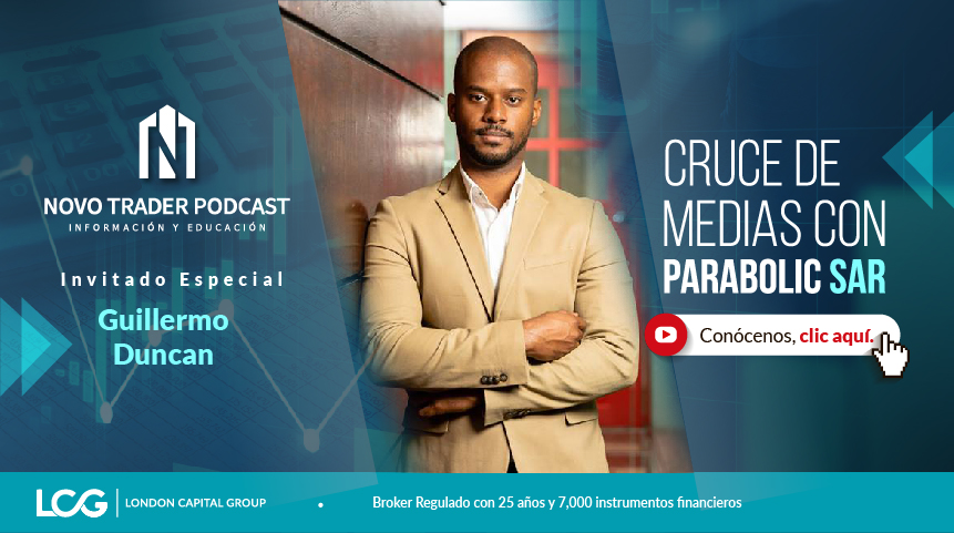 NovoTrader: Guillermo Duncan. Cruce de medias con Parabolic SAR - Video + Podcast