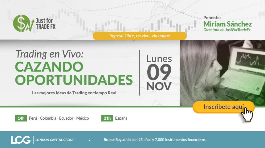 Trading en Vivo: Cazando Oportunidades