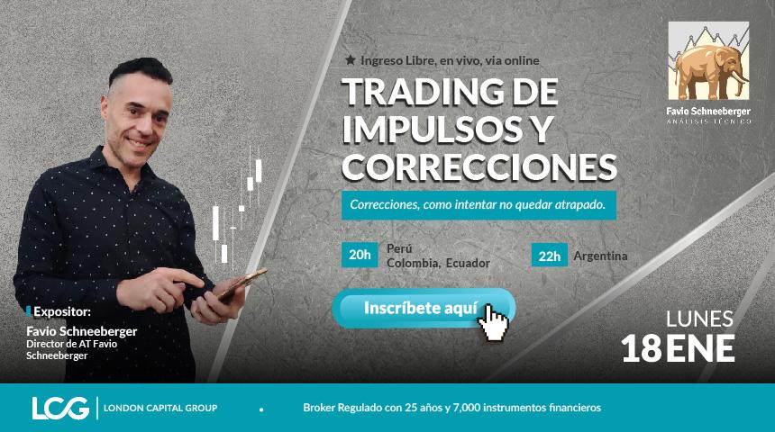 Trading de Impulsos y Correcciones