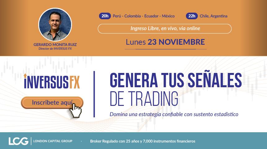 Genera tus señales de trading