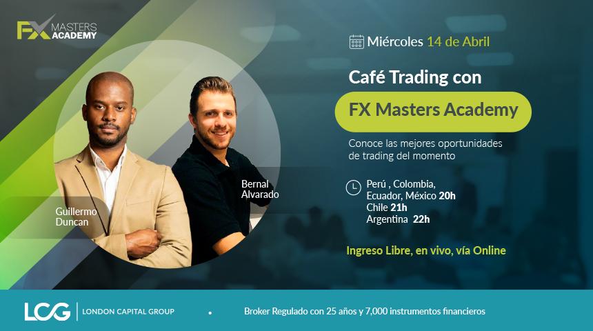 Café Trading con FX Masters Academy