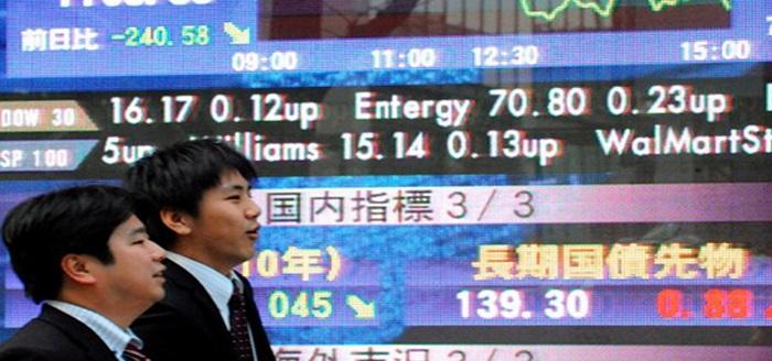 Bolsa de Tokio en máximos tras estimulos