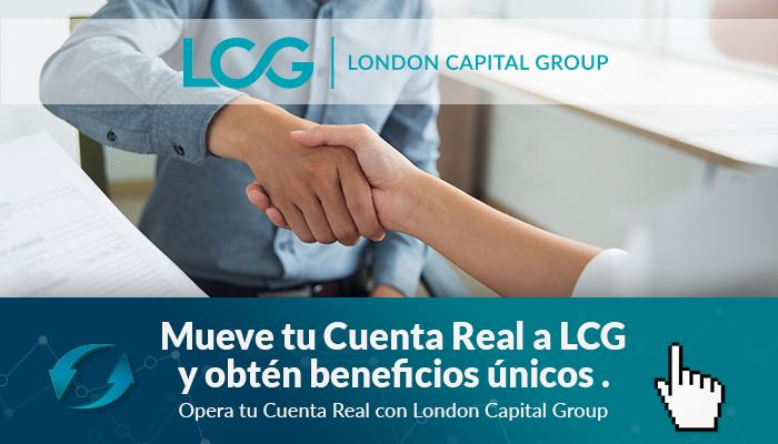 Llénate de Beneficios moviendo tu Cuenta Real a LCG
