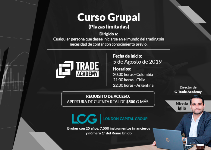 Curso Grupal: (Plazas limitadas) - G Trade Academy - Nicola Iglio