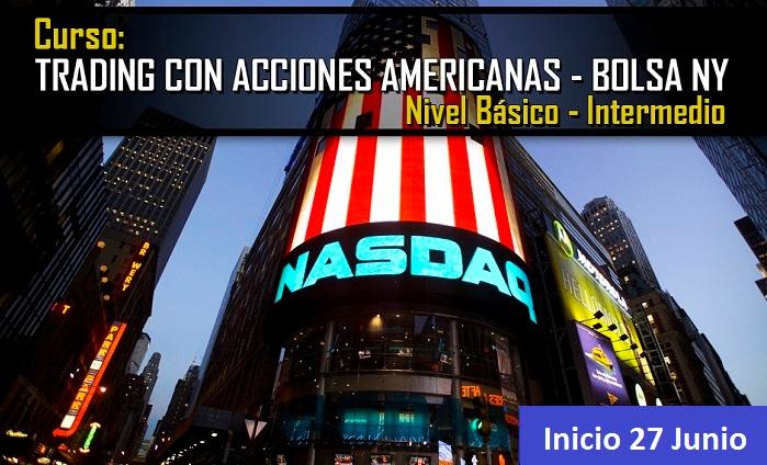 Curso: Acciones Americanas y Bolsa de New York