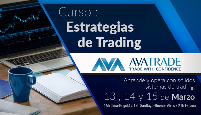 Curso Estrategias de Trading con AVATRADE