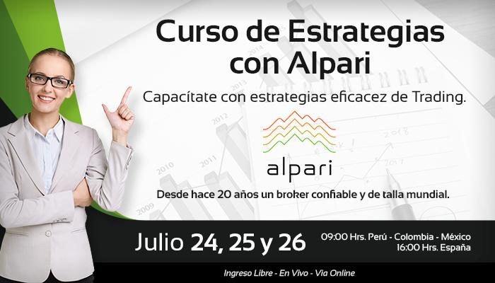 Curso de Estrategias con Alpari