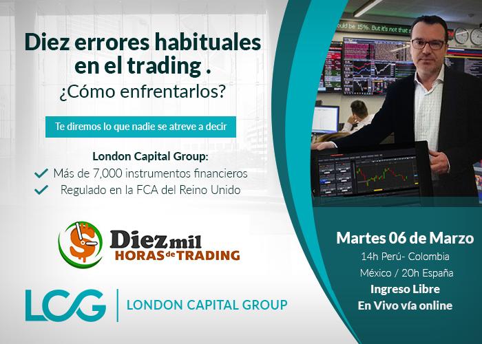 Diez errores habituales en el trading y cómo enfrentarlos