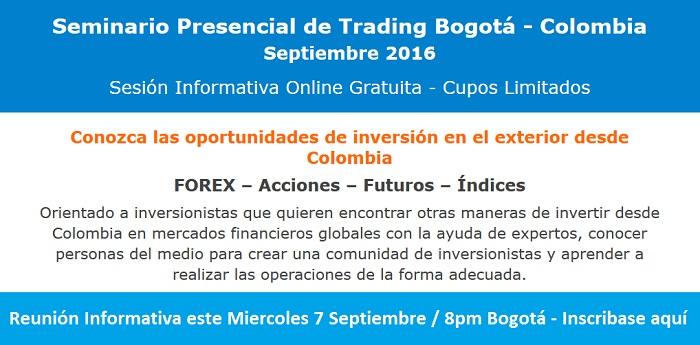 Seminario online: 7 Septiembre - 8pm Bogotá-Colombia