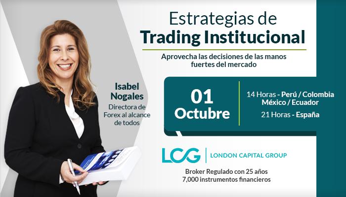 Estrategias de Trading Institucional - Isabel Nogales - Forex al alcance de todos