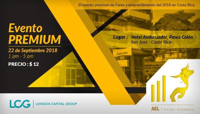 Evento FOREX Costa Rica: 22 Septiembre / Presencial