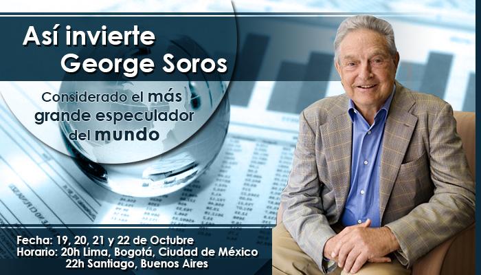 Taller: Así invierte George Soros