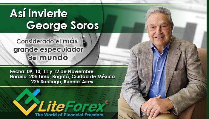 George Soros Banner Lite