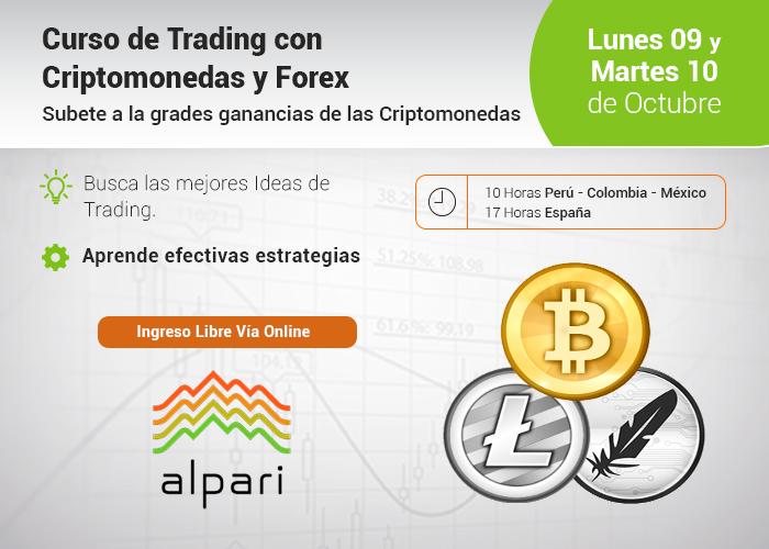 Curso: Trading con Criptomonedas y Forex