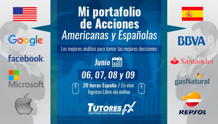 Mi Portafolio de Acciones Americanas y Españolas