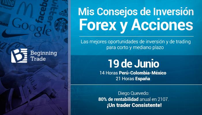 Mis consejos de Inversión: Forex y Acciones