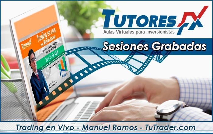 Trading en Vivo - Manuel Ramos - Tutrader.com