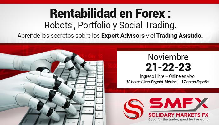 Curso: Trading con Robots, Portfolio y Social Trading