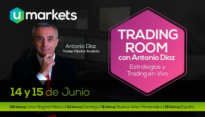 Trading Room con Antonio Díaz y Umarkets