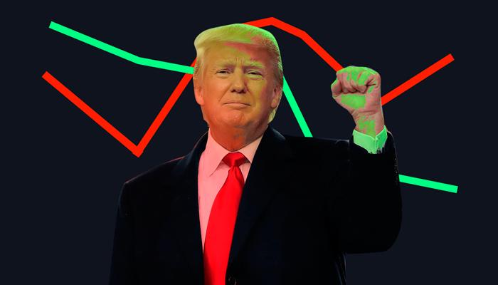 Tiempos dificiles para Trump