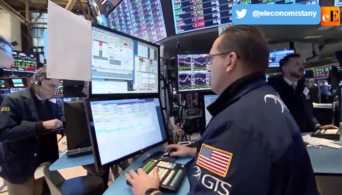 Un viernes bipolar en Wall Street