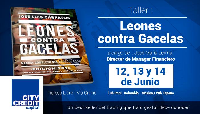 Taller: Leones contra Gacelas