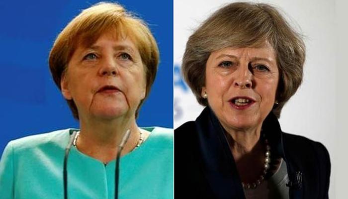 Alemania se niega a negociar con Reino Unido: Merkel exige ser inflexible ante el Brexit a la carta de May