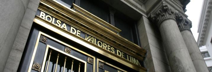 Bolsa de Valores de Lima subió 22.4% entre enero y marzo