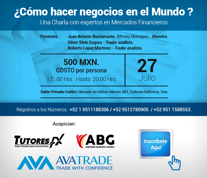 Evento México: ¿Cómo hacer negocios con el Trading?