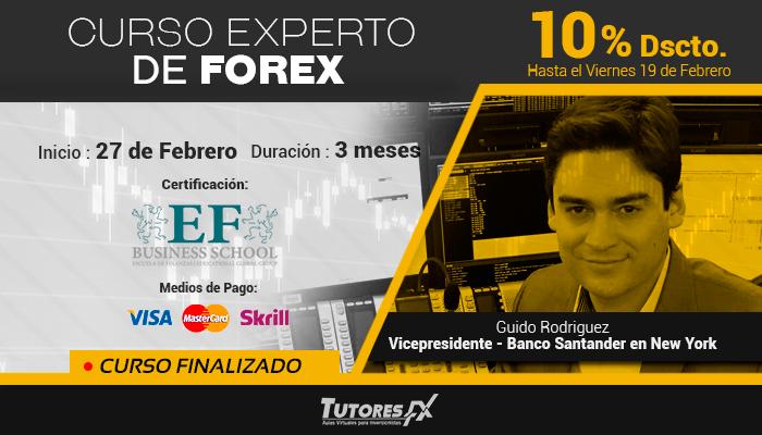 Curso Experto de Forex con Certifiación Internacional