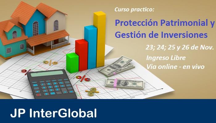 Curso: Protección Patrimonial y Gestión de Inversiones