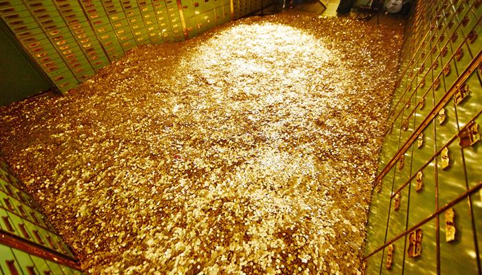 El oro, al alza; el dólar sigue sometido a mucha presión