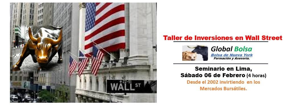 Taller de Inversiones en la Bolsa de Nueva York