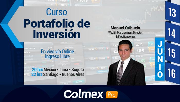 Curso Portafolios de Inversión con Colmex