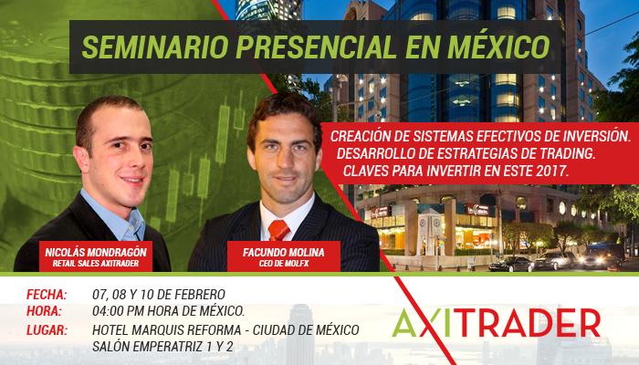 Seminario Presencial México - AxiTrader