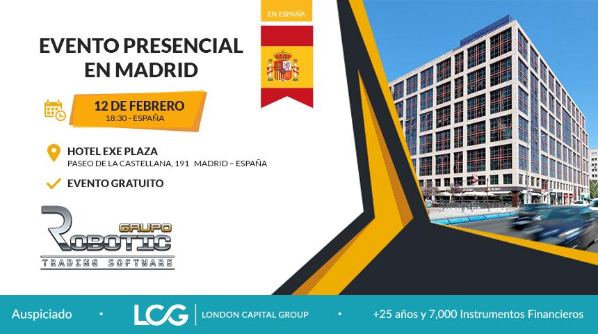 Trading en Madrid - Evento Presencial - Ingreso Libre