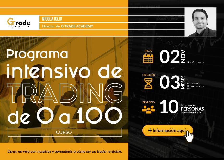 Curso: Programa intensivo de trading de 0 a 100